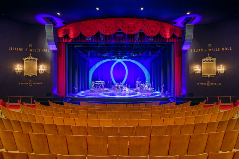 Newly renovated playhouse opens according to CDC guidelines and 'rocking and rolling' with a d&b V-Series loudspeaker system.